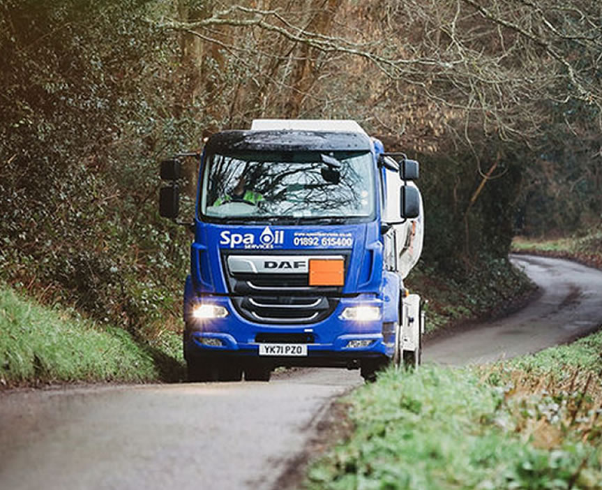 Spa Oil delivery